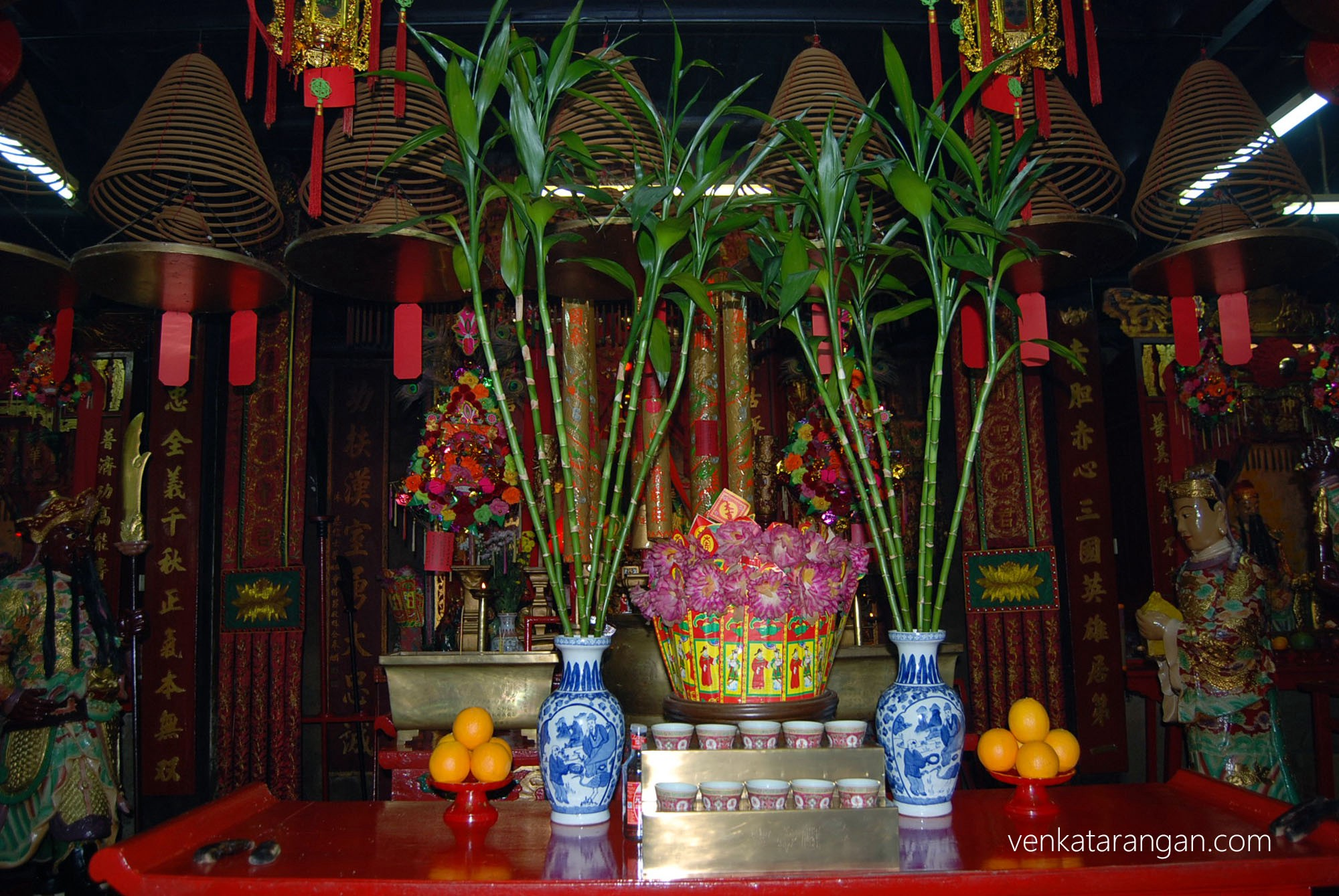 Offerings - Kwan Tai Old Temple - Tai O