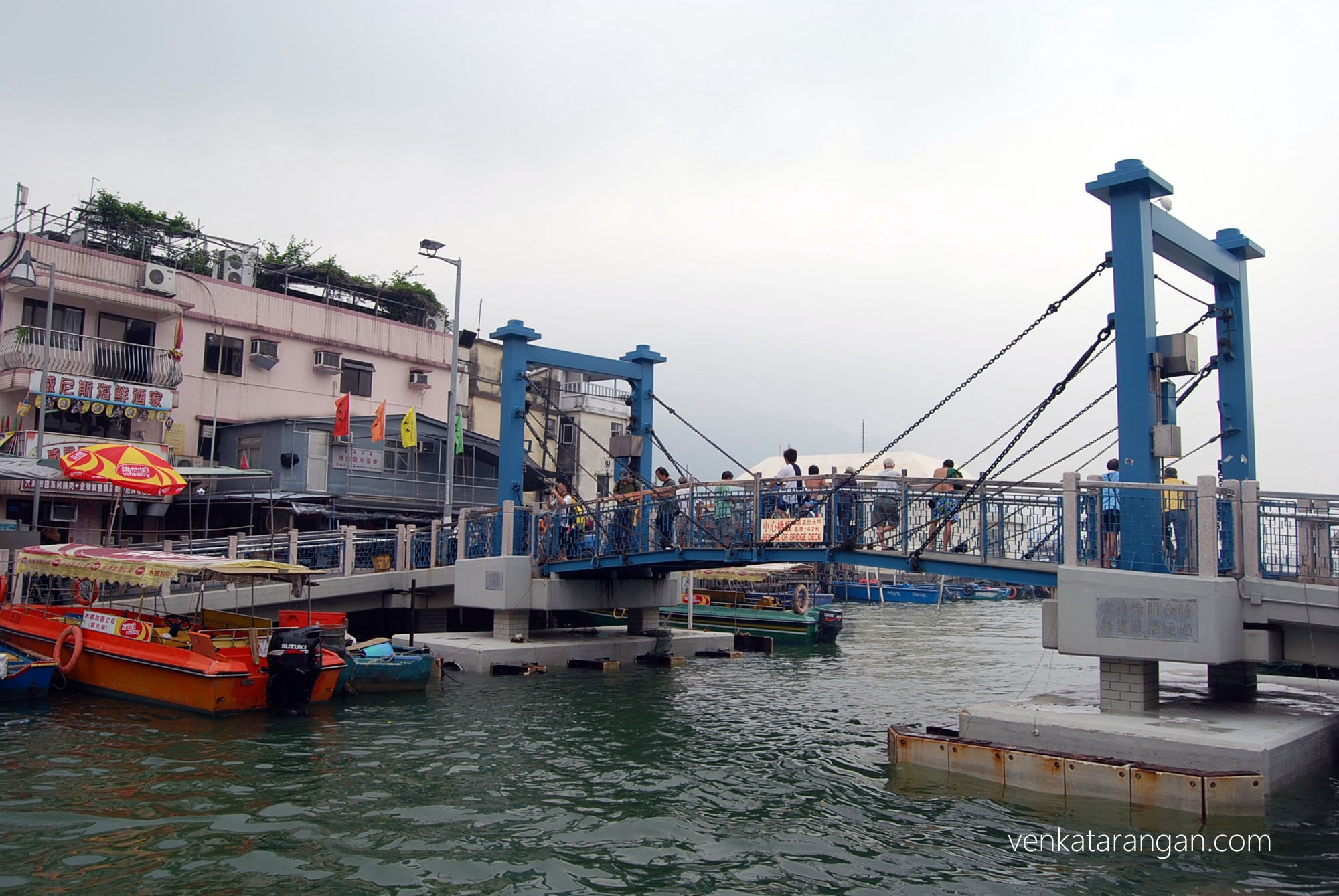 Waterway in Tai O