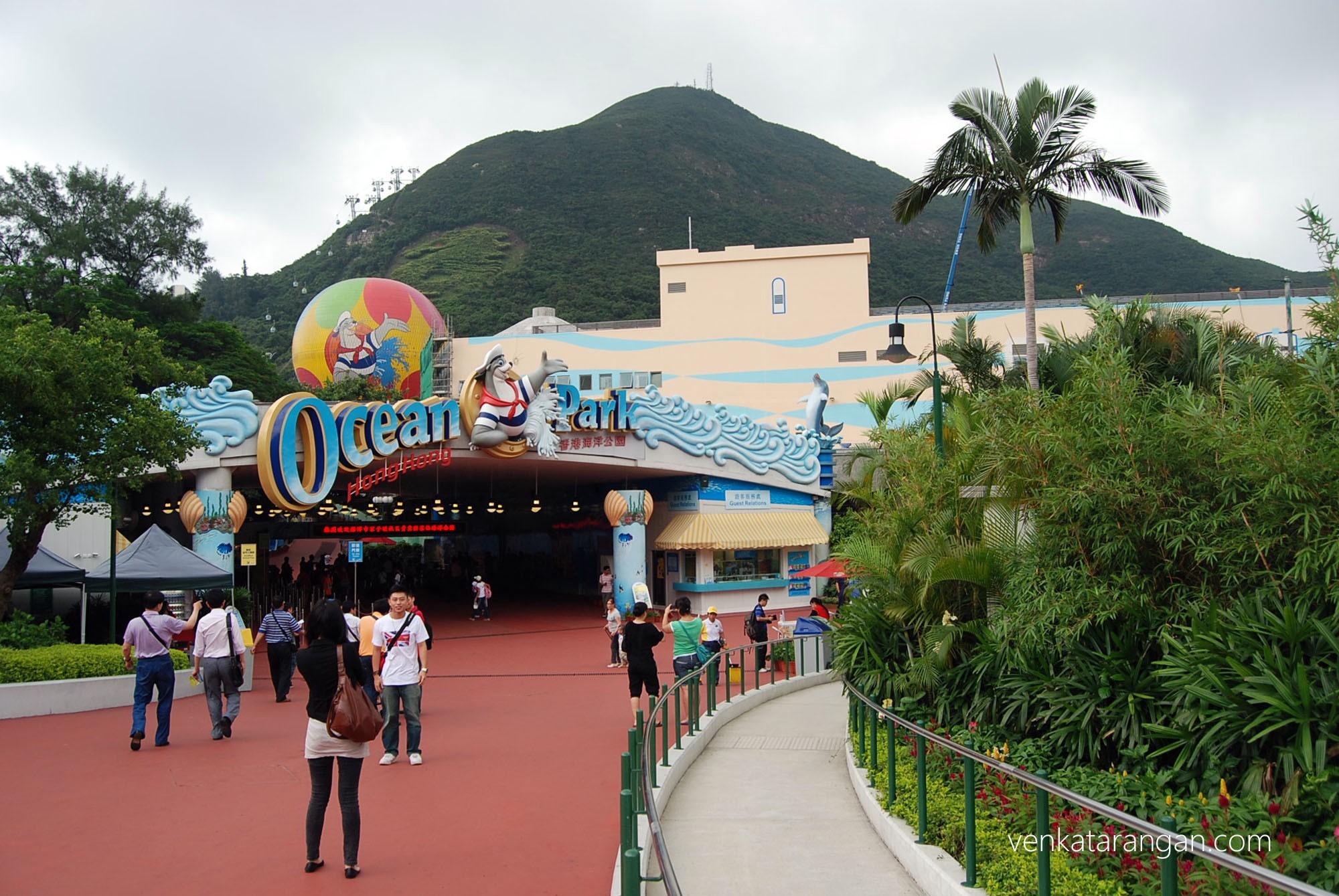 Ocean Park, Hongkong