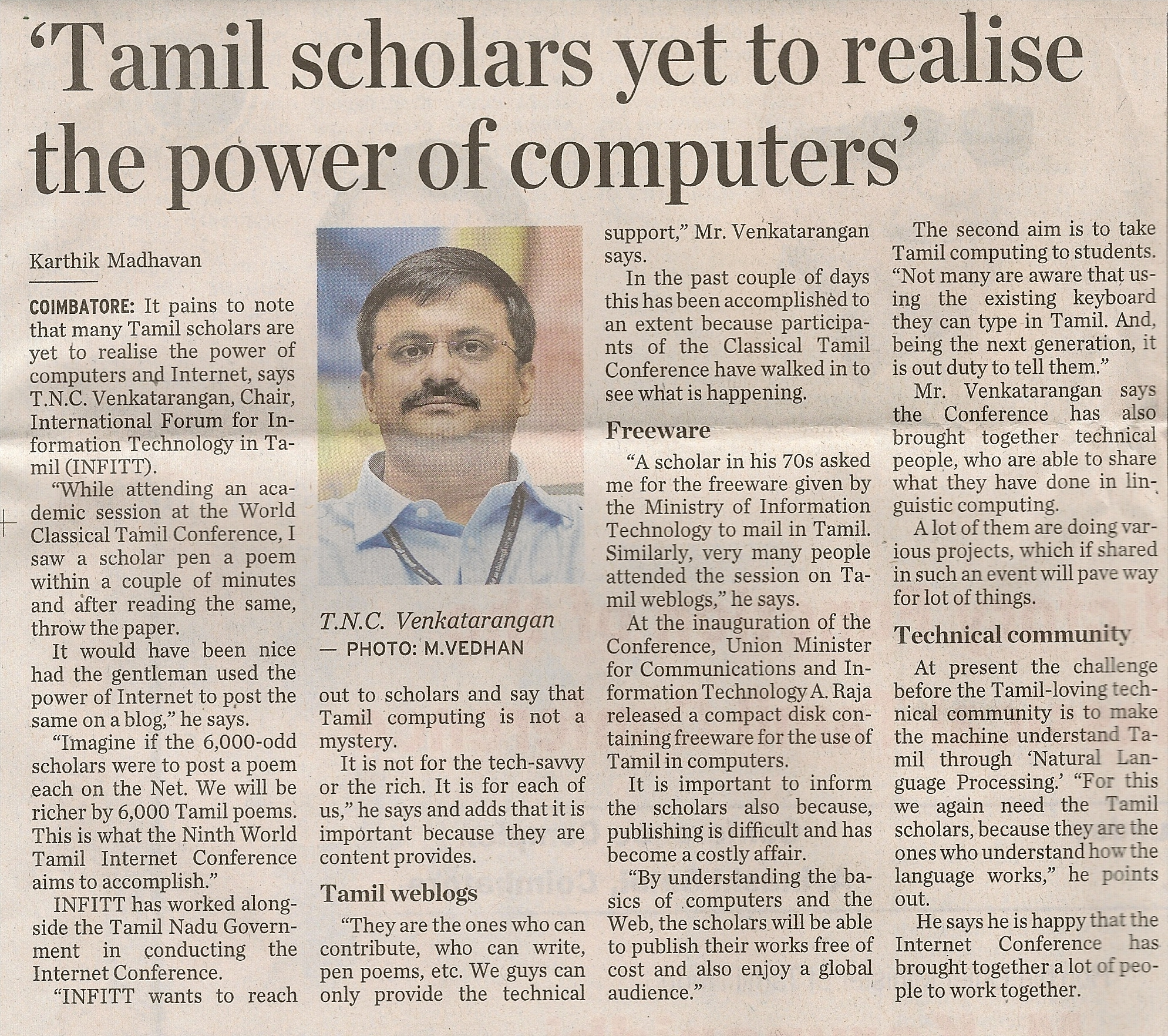 The Hindu – June 23, 2010