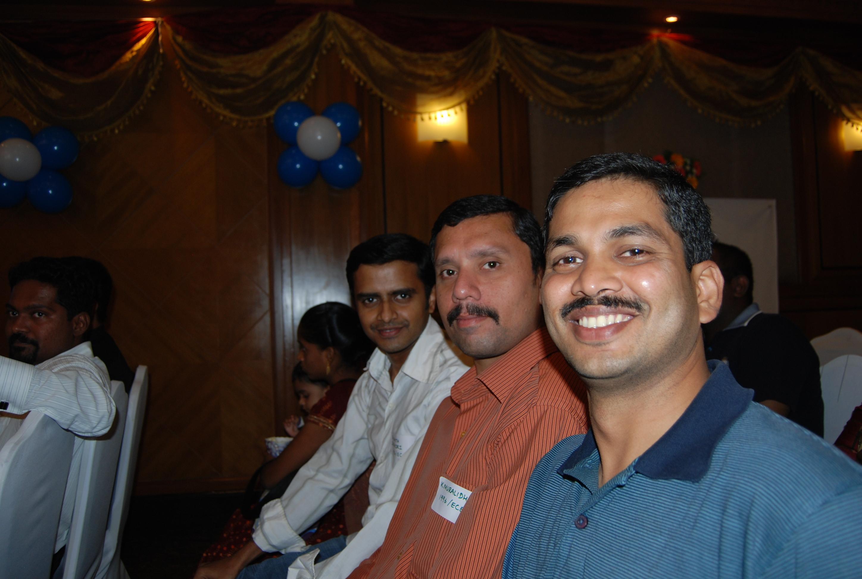 My classmates - Ananth Seshadri, Muralidharan, Udaya Kumar Napa