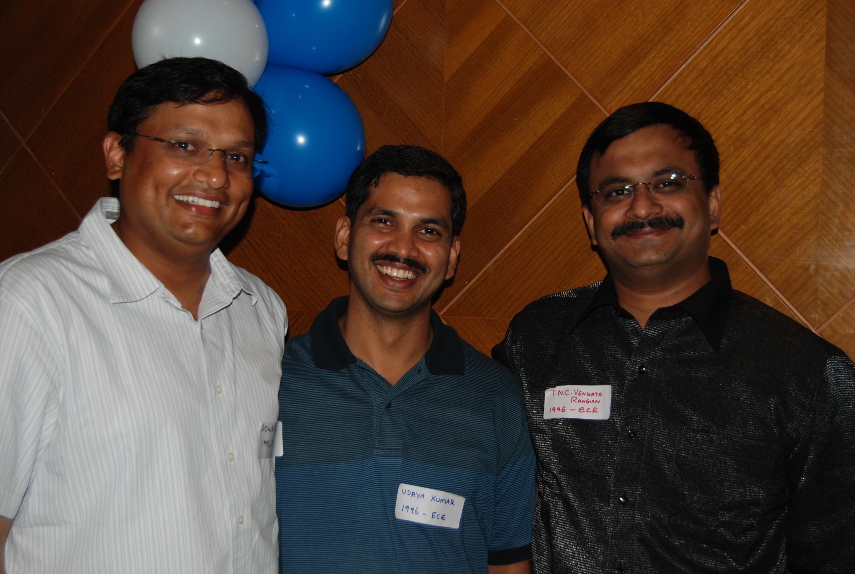 With my classmates - Sowri S Krishnan, Udaya Kumar Napa