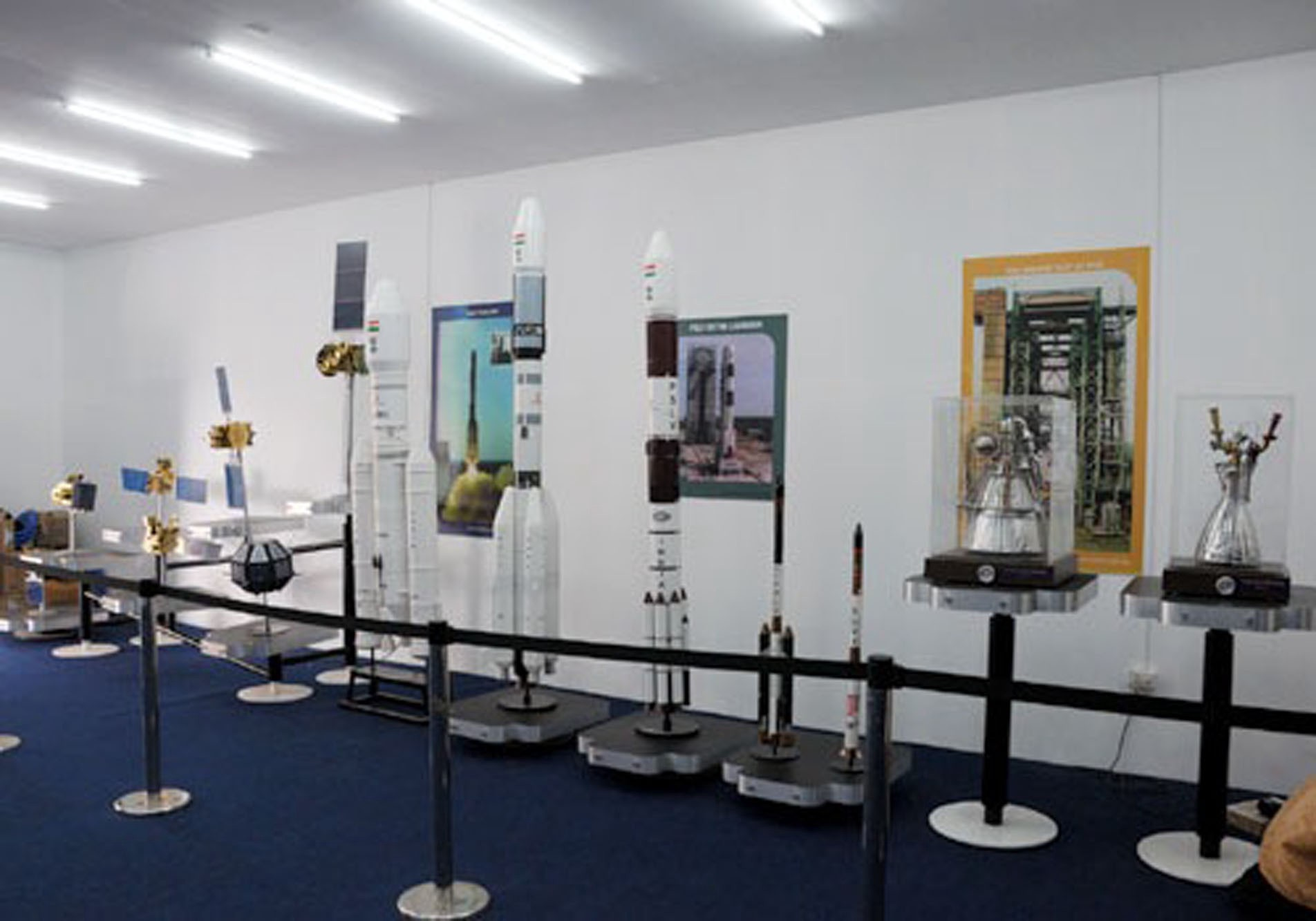 WCTC 2010 - Exhibits by ISRO