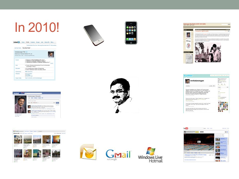 In 2010, you have multiple profiles online