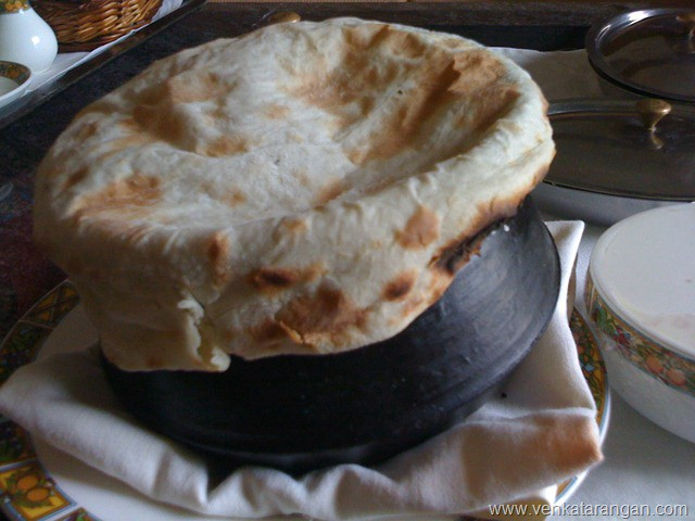 Indian Bread cover for Biryani