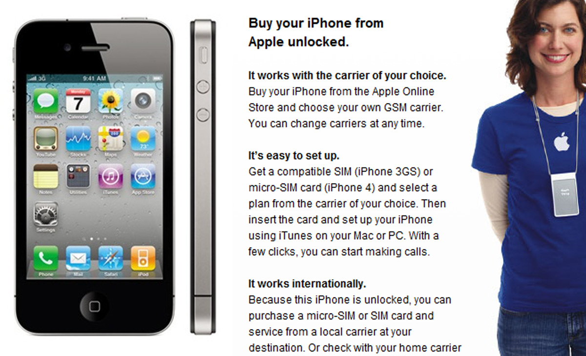 iPhone 4 from Singapore