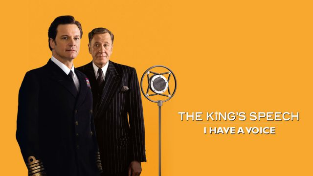 george vis effort to get rid of his speech impediment in the movie the kings speech by tom hooper