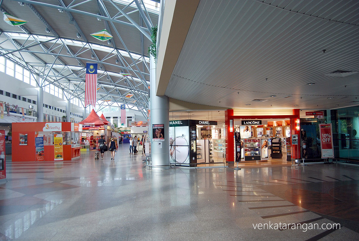 Shops in Langkawi Airport