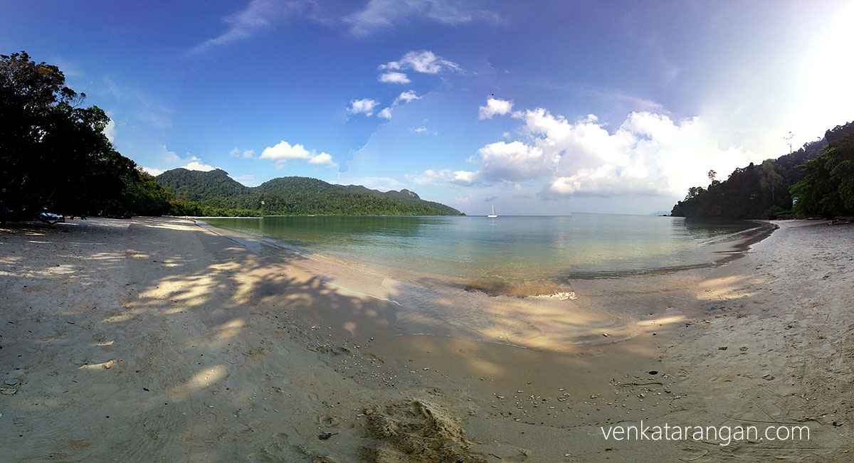 "The Datai bay from ""The Andaman (resort)"" - A panoramic view"