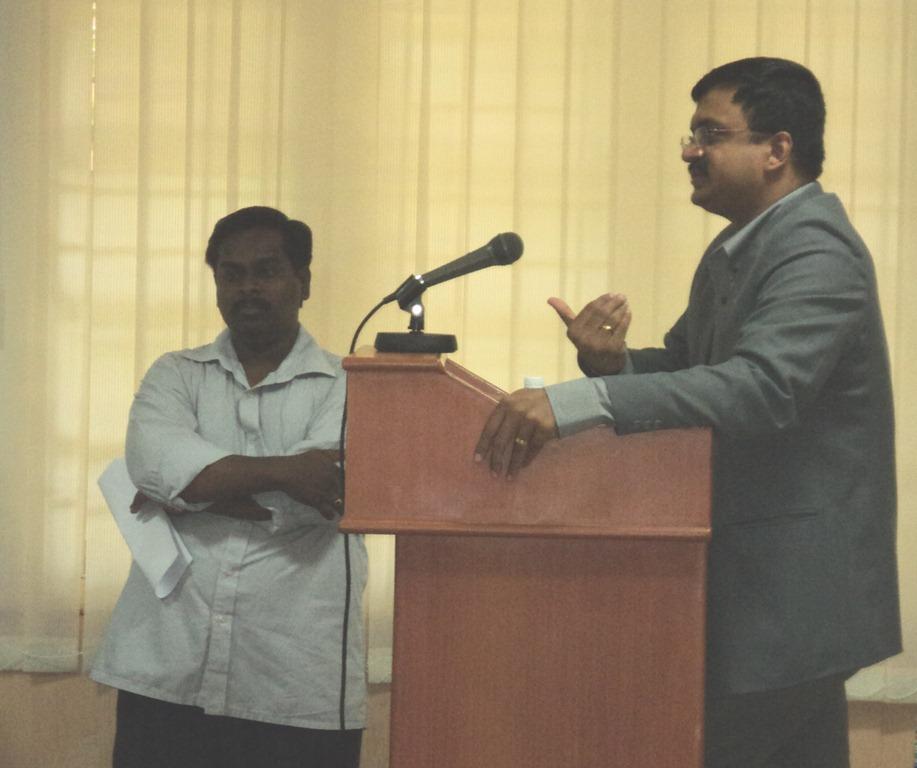 Seen Prof. Dr. S. Sendhilkumar and T.N.C.Venkata Rangan