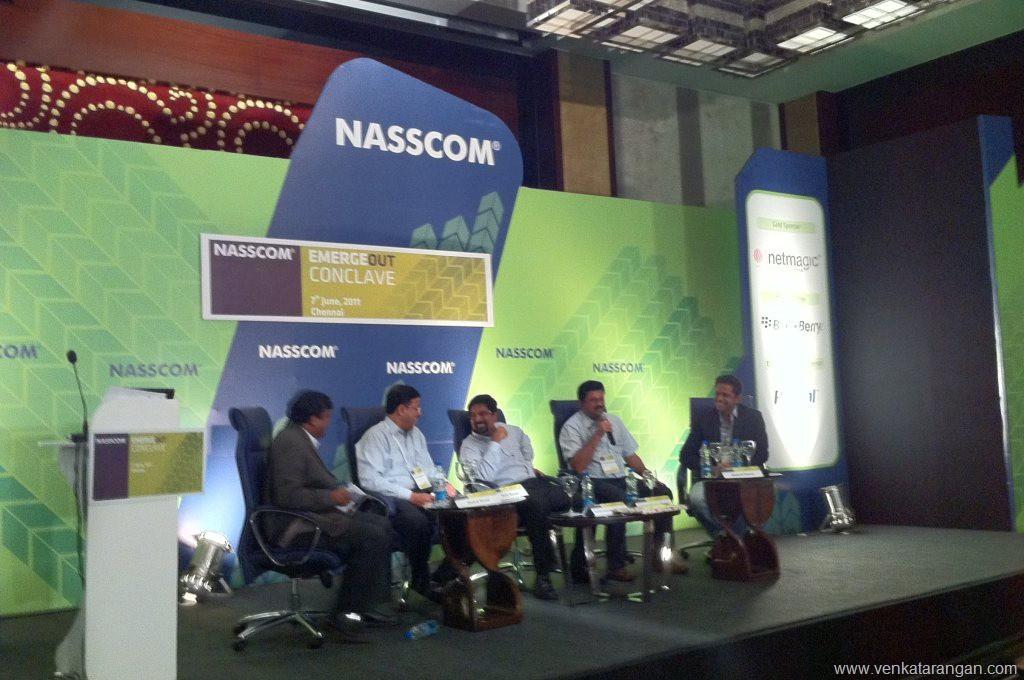 Nasscom Emergeout 2011 - Kris Srikkanth