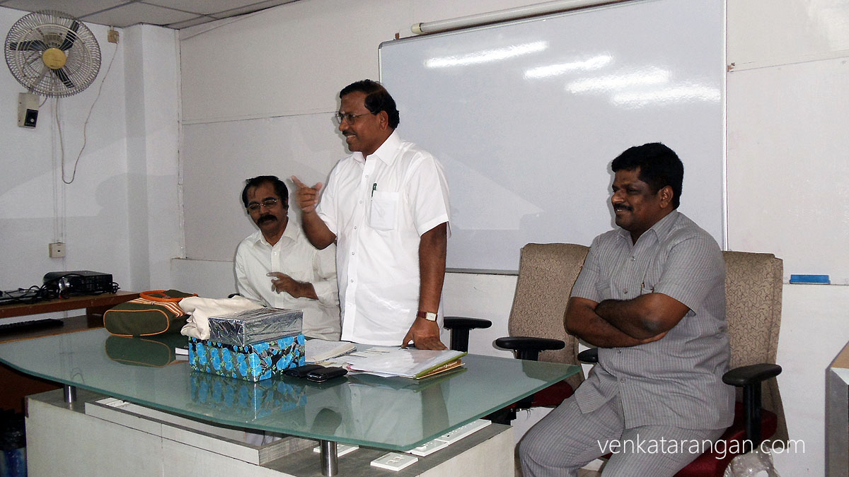 (from left) Thiruvaluvar Ilakiyanar, Mafoi Pandiarajan, Anto Peter