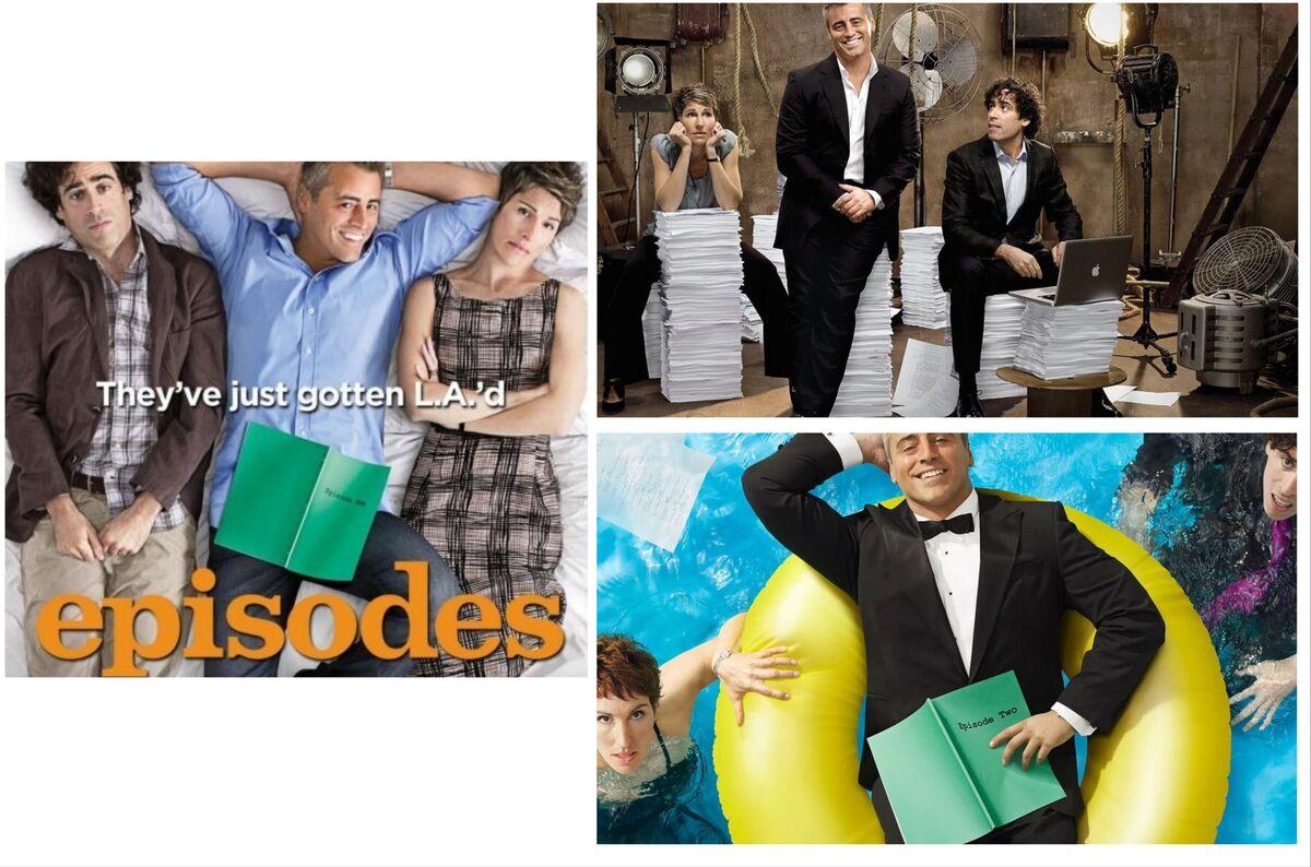 Episodes (TV series) - Matt LeBlanc, Stephen Mangan & Tamsin Greig