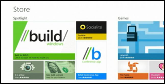 Windows 8 App Store