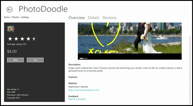 Trial mode for apps in Windows 8 Store