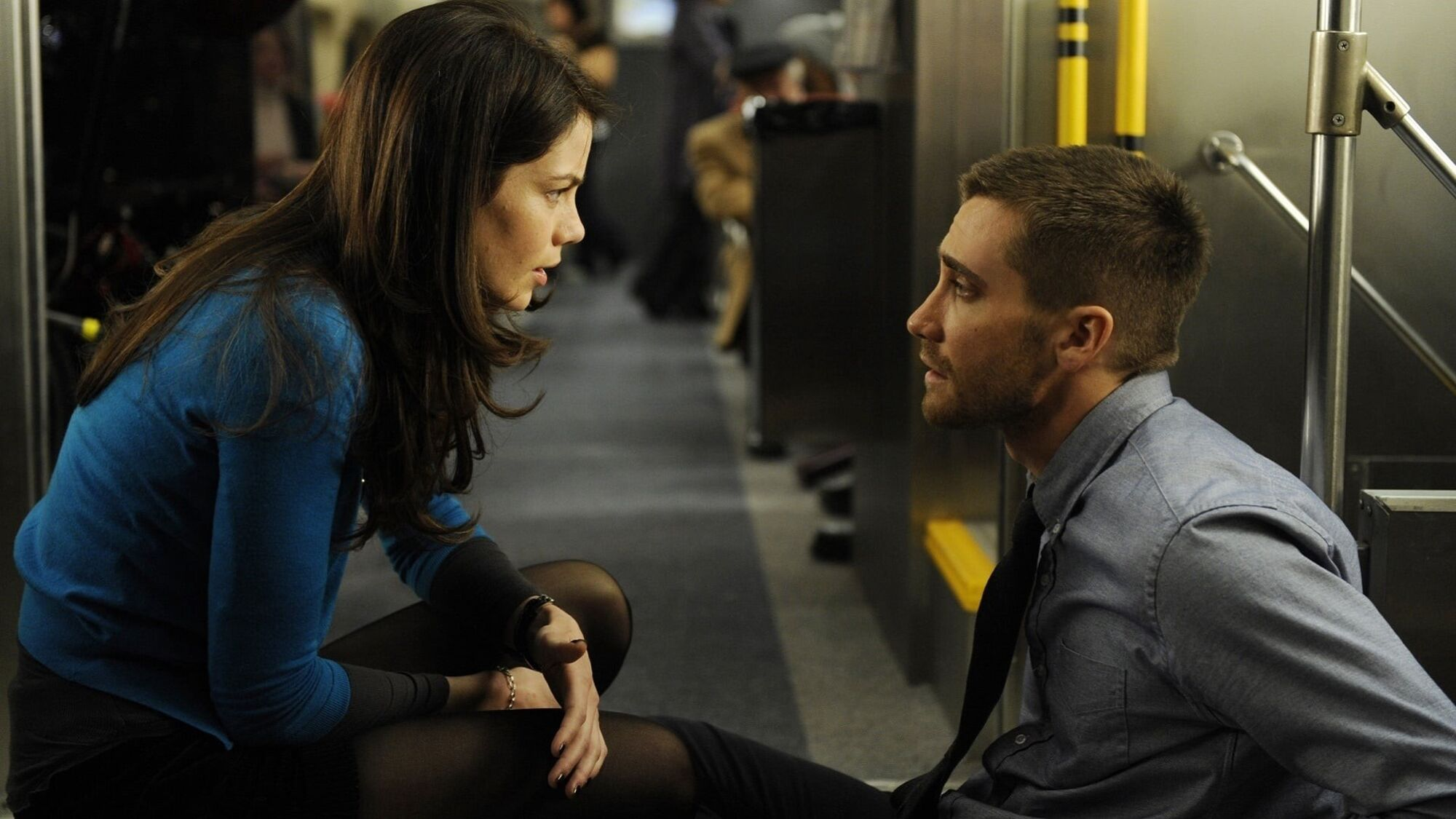Source Code (2011) - Jake Gyllenhaal and Michelle Monaghan