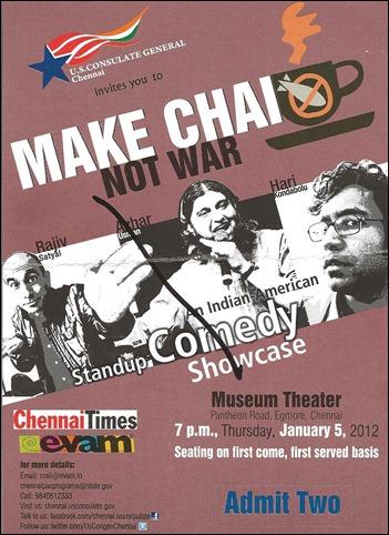 Make-Chai-Not-War