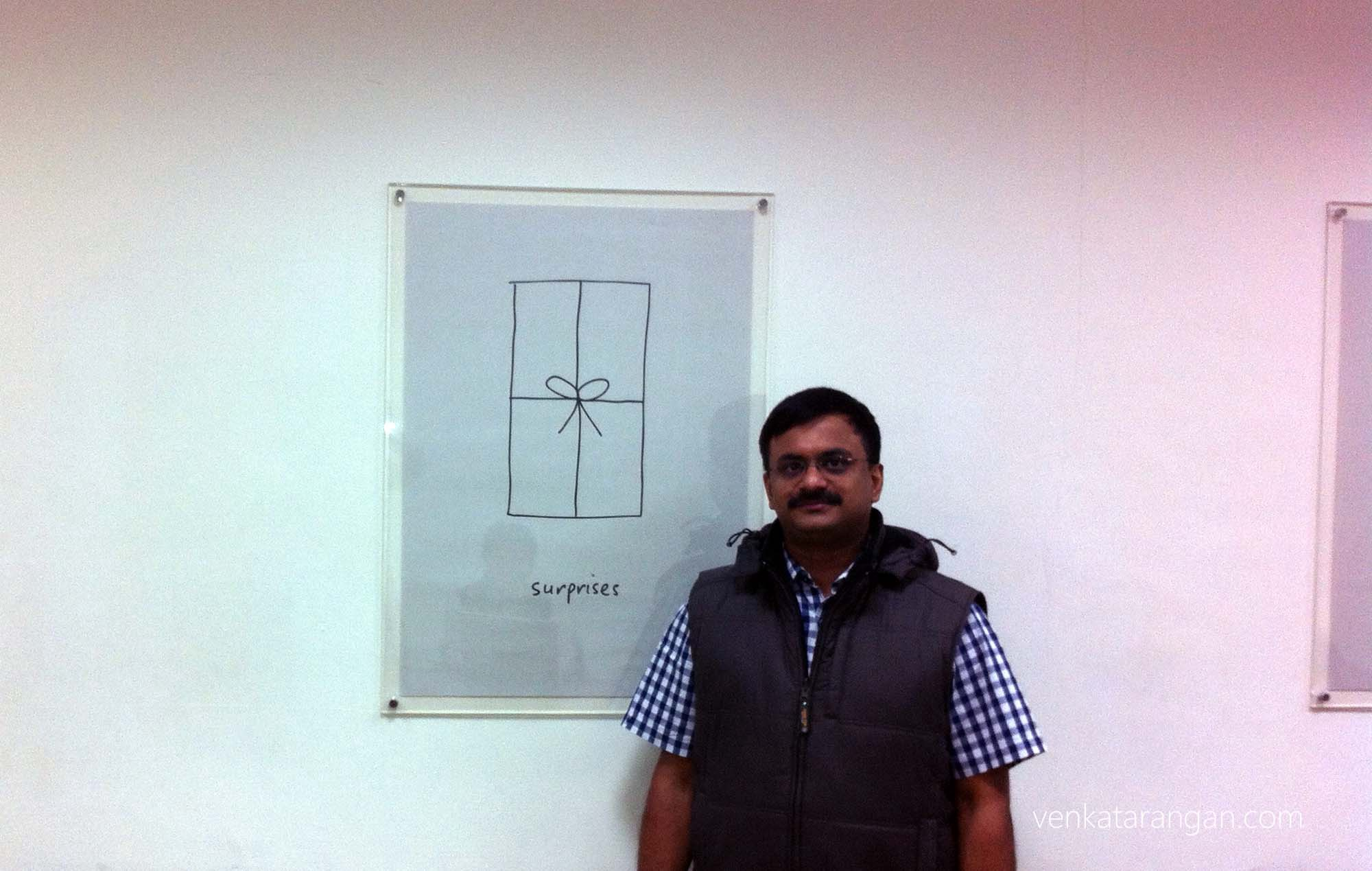 Venkatarangan at HTC, Taiwan