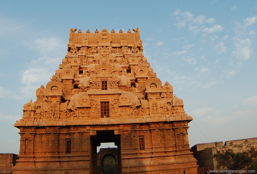 Gopuram of Thanjavur Big Temple