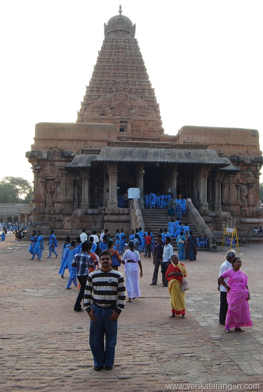 Venkatarangan at Thanjavur Big Temple
