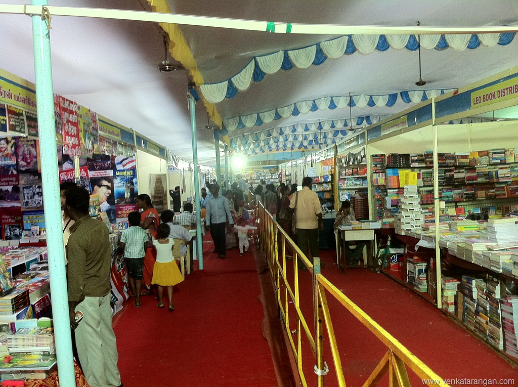 Book Fair in Tanjore in Sri Besant Lodge