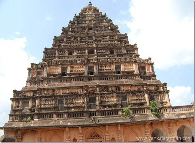 Tower in Thanjavur Palace