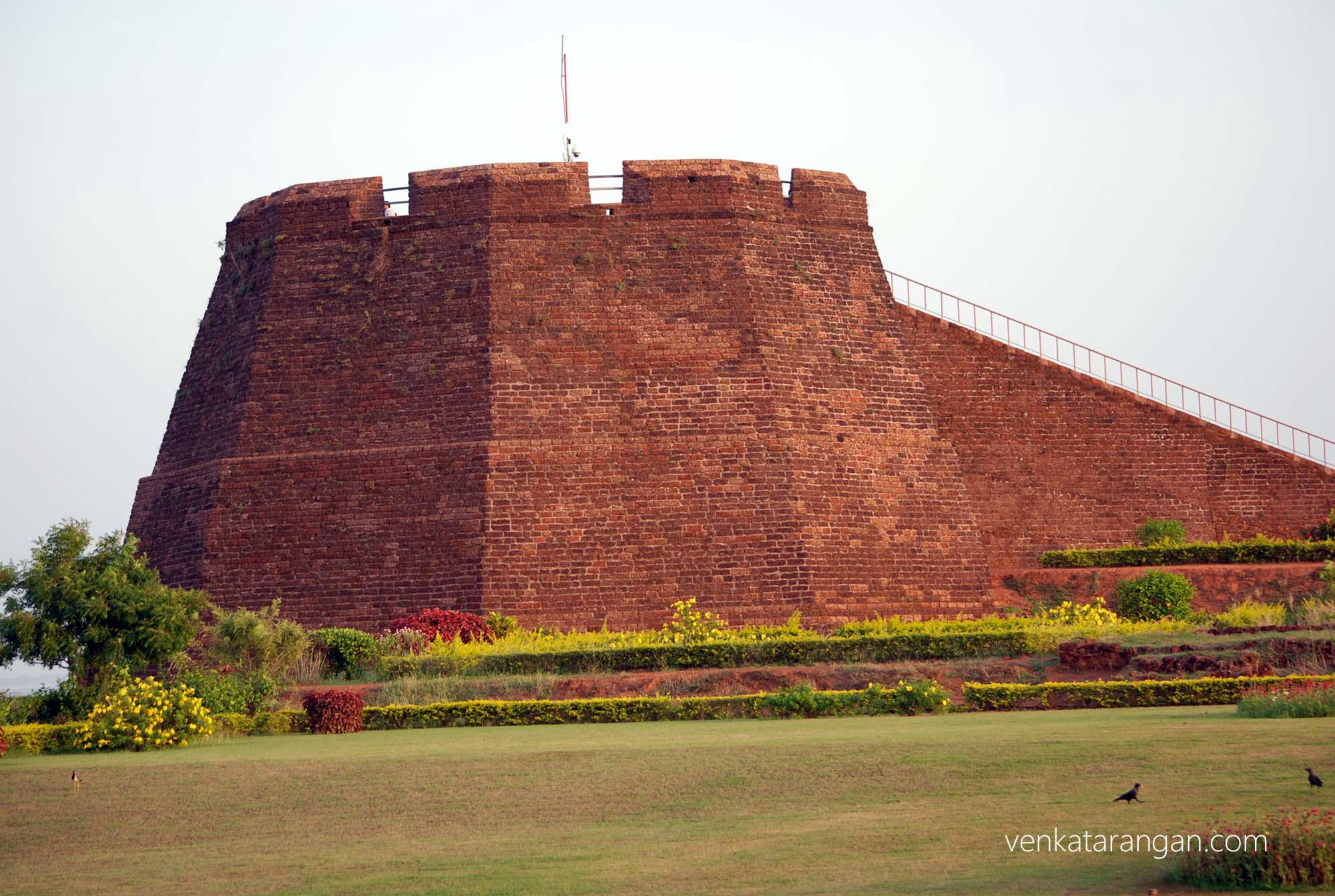 Bekal fort watch tower