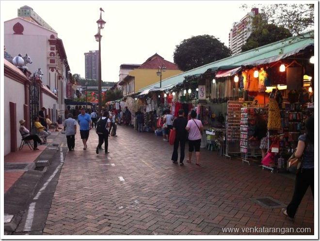 China Town near Mariamman Temple, Singapore