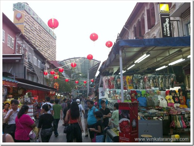 Shops in China Town