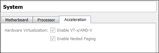 VirtulBox-Windows8-System-Acceleration Settings