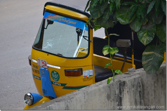 Autorickshaws are Chennai's life pulse