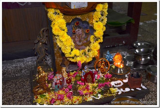 Idols of Lord Krishna