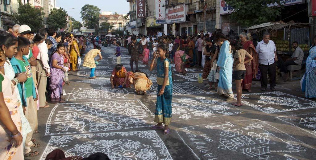 Kolam festival in Mylapore Festival
