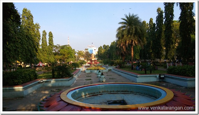 Anna Nagar Tower Park - Water fountain