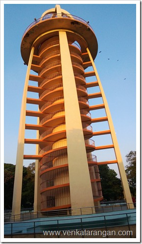 Anna Nagar Tower - 135-foot-tall, 12-storied tower