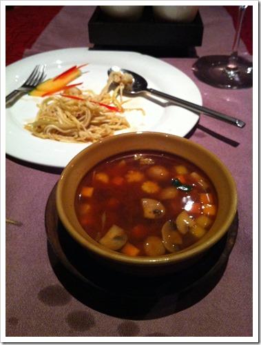 Soup in Thai Pavillion