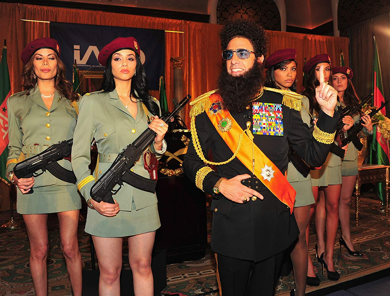 The Dictator (2012) by Sacha Baron Cohen