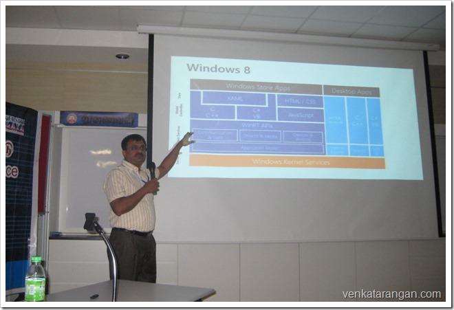 Venkatarangan Talk in Tamil Internet Confernce 2013