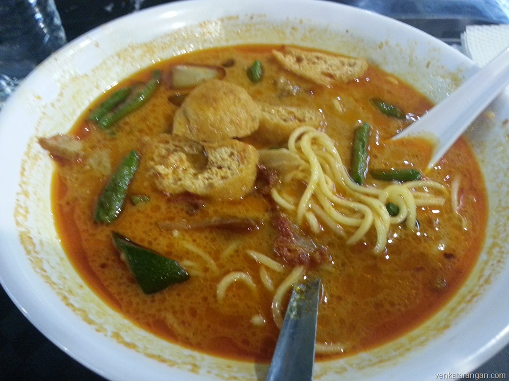vegetarian curry noodle