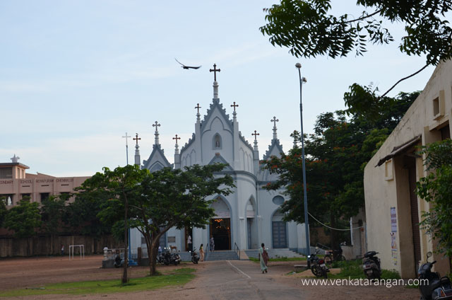 St.Peters Church, Royapuram view from West Mada Church Street