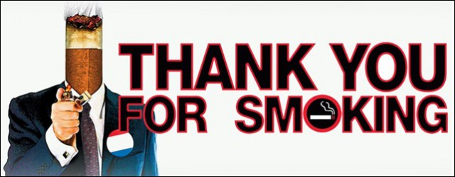 thank you for smoking film review