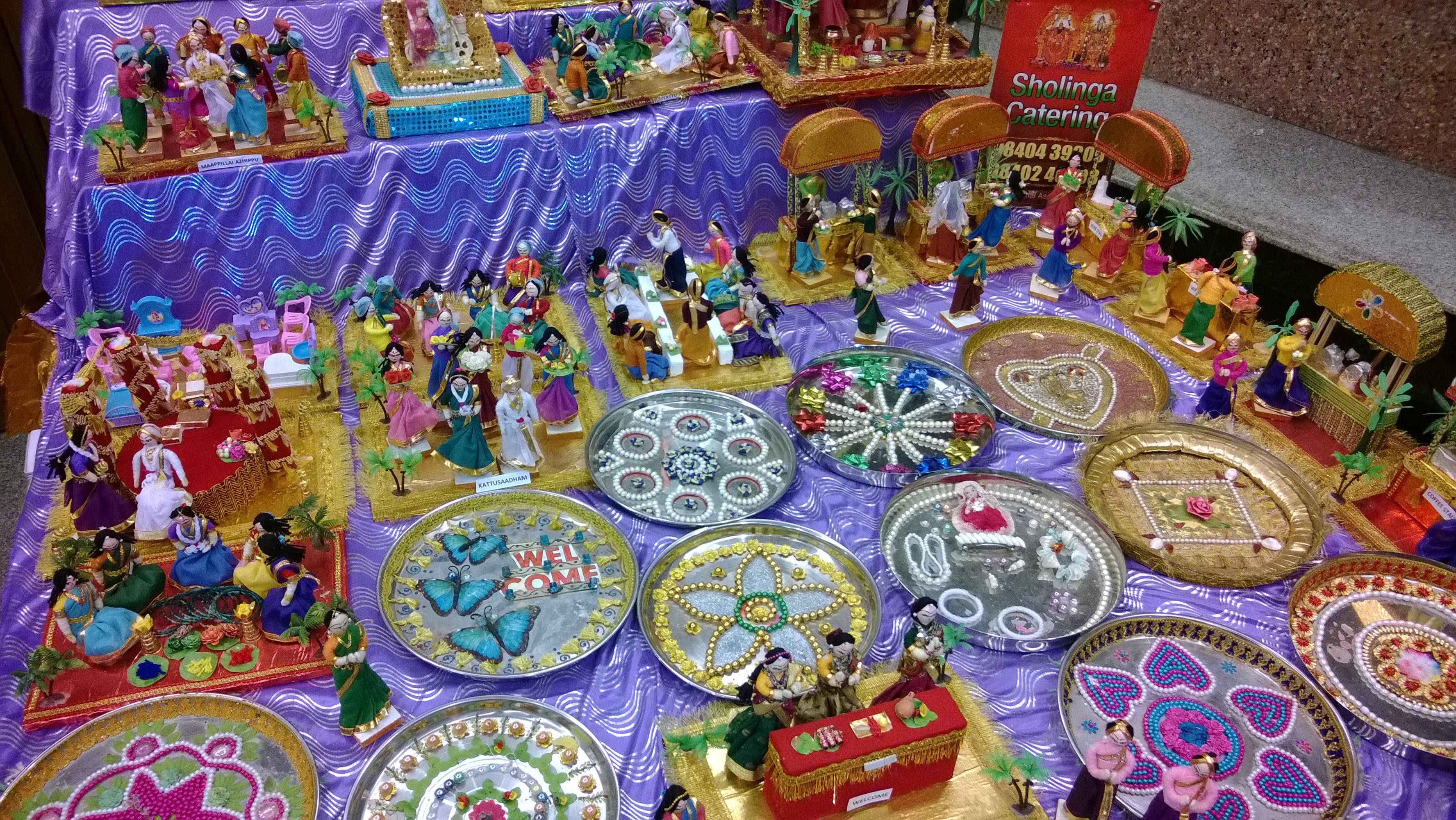 Tamil Brahmin Weddings Rituals Shown In Dolls