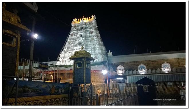 Tirumala Tirupati Temple Gopuram