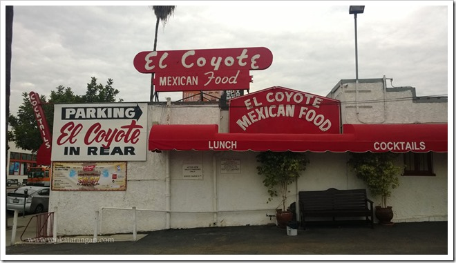 Los Angeles elcoyotecafe.com Fajita tray (2)