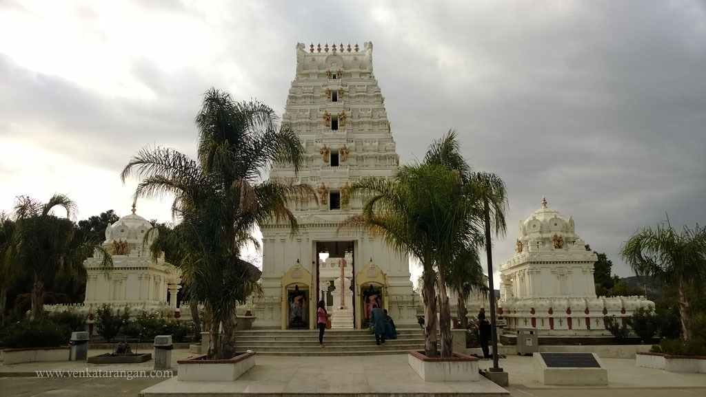 Gopuram of Malibu Lord Sri Venkateswara Temple