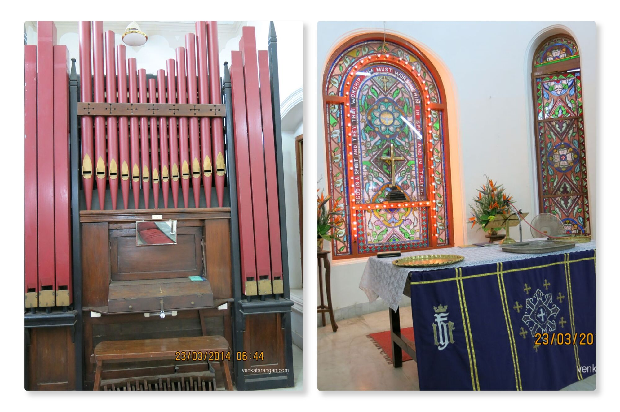 Pipe Organ at CSI Zion Church, Chintadripet