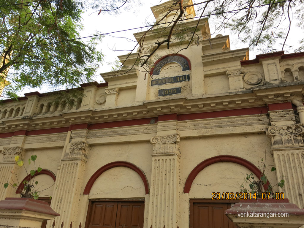 Sathianadhan Memorial Hall (Estd 1895), Near CSI Zion Church, Arunachala St,