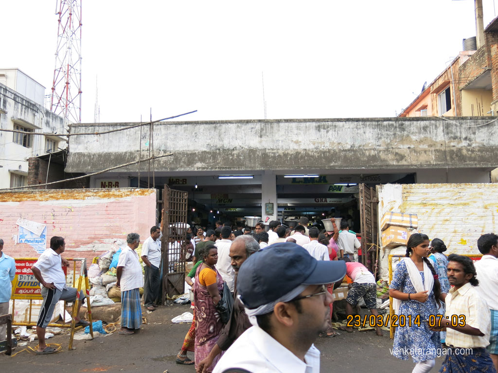 Chintadripet Fish Market