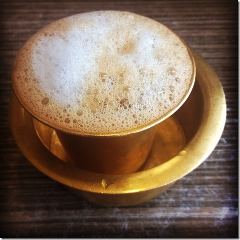 Filter coffee from Annapoorna Kovai