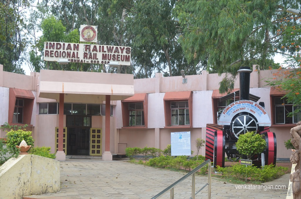 Indian Railways Regional Rail Museum - Chennai